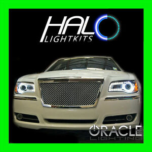 2011-2014 CHRYSLER 300 300C WHITE LED LIGHT HEADLIGHT HALO KIT by ORACLE