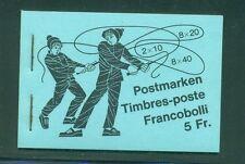 Switzerland 1983 5 Fr Pro Juvenutute stamp advertisement inside cover Booklet