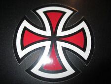 "INDEPENDENT TRUCKS Red cross logo Skateboard Skate 4"" STICKER helmets decal"