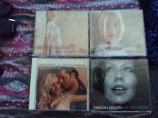 Christina Aguilera 4 x Single CD Bundle Collection Promo CD´s Actress Pop Sexy