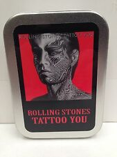Rolling Stones, Rock Band Music Cigarette Tobacco Storage 2oz Hinged Tin