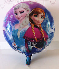 10PCS Cartoon Frozen  party decoration air helium aluminum Foil balloon gift
