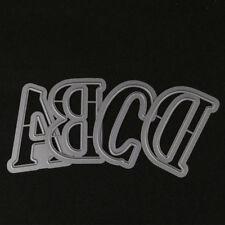 5CM Large Alphabet 26Letters Cutting Dies Stencils Metal for DIY Scrapbooking