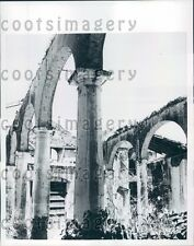 1958 Crumbling Cathedral Carmen de Cura Venezuela Press Photo