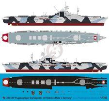 Peddinghaus 1/1250 Graf Zeppelin Aircraft Carrier Markings w/Wooden Deck 3397