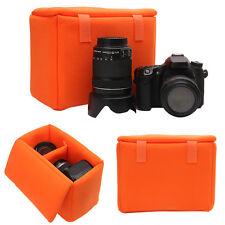 DSLR SLR Camera Lens Case Insert Cushion Partition Padded Shockproof Bag Divider