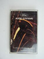 Ford Audio Systems Demonstration Cassette Tape Lot #2