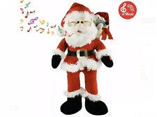 Singing Santa Claus Interactive Christmas Plush Toys with Music Electronic 20''
