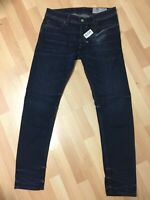 Mens Diesel SLEENKER STRETCH Denim 084MV DARK BLUE Slim W31 L30 H6 RRP£150