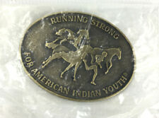 Running Strong For American Indian Youth Belt Buckle Alloy Metal
