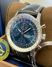 Breitling Navitimer 1 A13324 Chronograph 41m Watch Blue 2020 With Papers UNWORN