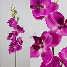 Orchideenzweig 90cm fuchsia AD  Kunstblumen künstliche Orchidee Orchideen Blumen