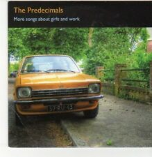 (DN463) The Predecimals, More Songs About Girls & Work - 2010 DJ CD