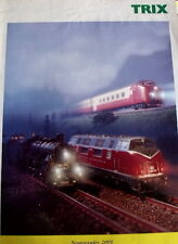 Catalogo TRIX Novità 2001 - FRA - Tr.5