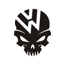 VW skull decal sticker golf polo beetle bus bumper tailgate window