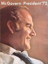 Official 1972 George McGovern Campaign Poster (1213)