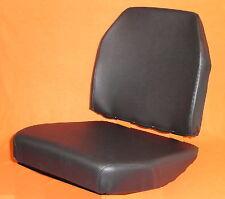 1 Sitzbezug+ 1 Lehnenbezug Kunstleder schwarz für UNIMOG 406- 421 Std. Sitz