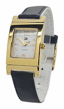 Tommy Hilfiger 1781377 Ladies Stainless Steel Reversible Leather Band 20mm Watch