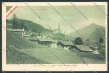Belluno Rocca Pietore Laste cartolina LQ9774