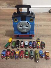 Thomas The Tank Engine & Friends Take N Play Bundle Carry Case 18 Trains Set