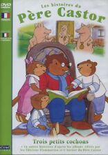 DVD Histoires du Père Castor (Les) Trois petits cochons