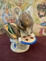 "Beatrix Potter's ""Appley Dapply"" Ceramic Figure Beswick England - Printing Error"