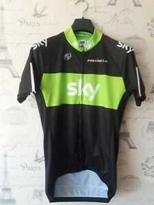 Cycling Shirt Jersey Adidas Sky Pinarello Size 4