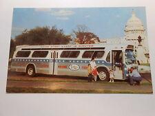 Old Postcard. Washington, D.C. White House Sightseeing Tours
