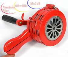 Hand Crank Operated Emergency Alarm Siren Loud110db Aluminum Alloy Free shipping