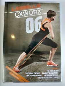 Les Mills CXWORX 6 Complete Release DVD - Choreography Notes Included