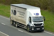Truck Photo 12x8 - Iveco Stralis - NDI - BJ13 FKW
