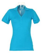 Camisas y tops de mujer de manga corta azul, Talla 34