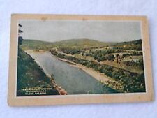 Vintage Unused Postcard-Hawks Nest Road, Sparrowbush, NY on Erie Railroad