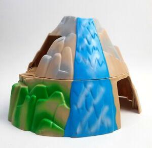 Toys R US Geoffrey Double Tunnel Waterfall Mountain Wooden Train Railway Plastic