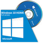 Microsoft Windows 10 HOME 64 Bit System Builder FULL VERSION BRAND NEW SEALED