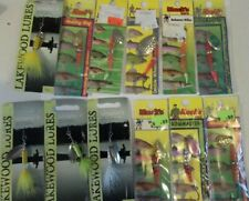 LOT OF 12 MIXED SPINNERS FOR TROUT AND OTHER SMALL GAME FISH TACKLE BOX FIND
