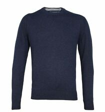 """Tommy Hilfiger Mens Adrien Navy Knitted Sweater Size XXL 46"""" Chest"""