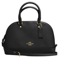 Coach Mini Sierra Convertible Satchel Dome Crossbody Bag Crossgrain Leather 298