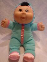 """Cabbage Patch Kids Baby Doll Plastic Face 12"""" Plush Soft Toy Stuffed Animal"""