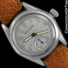 "1938 ROLEX OYSTER Rare Observatory Vintage Mens ""Boys"" SS Steel Watch - Warranty"