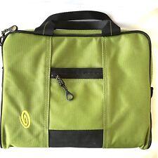 Timbuk2 Chartreuse and Black iPad Tablet Notebook Messenger Bag
