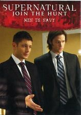 Supernatural Seasons 4-6 Disguises Chase Card D6 Men in Navy