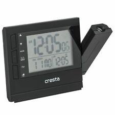 Cresta Digitale Wekker met Projector PRC280 Zwart Alarmklok Alarm Klok Uurwerk