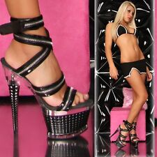 High Heels Sexy Clubwear Pole Dance GoGo Striptease Fashion Schuhe Erotik Neu