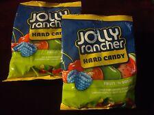 Fruit n Sour Jolly Ranchers (2) 3.8oz Bags! Green Apple, Cherry etc Sealed/Fresh