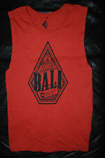 "Men's Volcom Stone ""Bali"" Orange Muscle Tank Top (Large)"