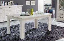 Forte Möbel Esstisch Tisch Kashmir Pinie WEISS