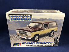 Revell '80 Dodge Ramcharger 1:24 Scale Plastic Model Kit 85-4372 New in Box