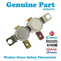 HOOVER WDXOC686ACB/1-80 WDXOC 686C1/1-80 Washer Dryer Safety Thermostat TOC