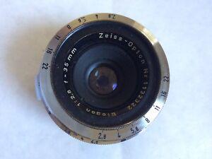 Zeiss - Opton Biogon 1:2.88, 35mm